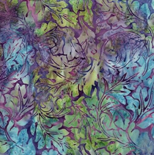 Hand Dyed Cotton Batiks Fabric Collection 6/970